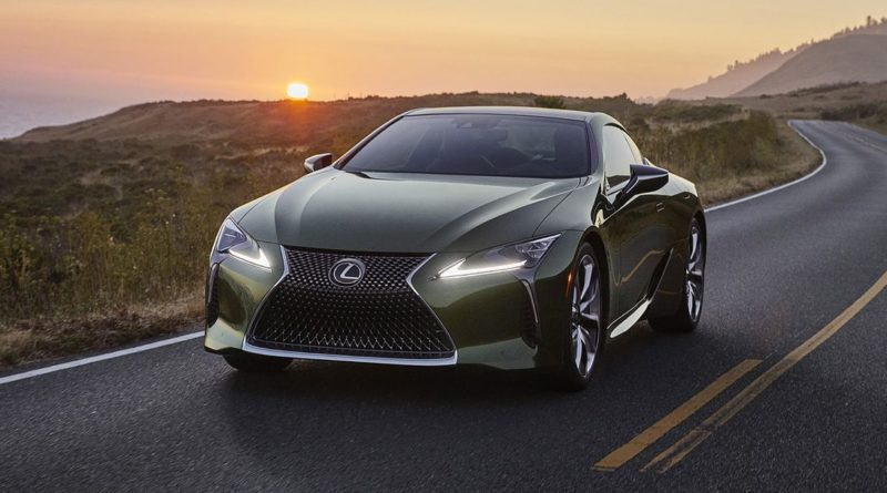 2021 lexus lc gets new colors, performance updates and