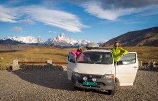 'I left my campervan in Argentina'