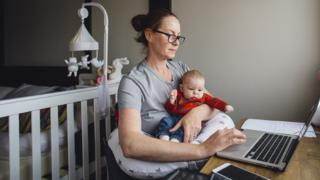 Coronavirus: 'Mums do most childcare and chores in lockdown'