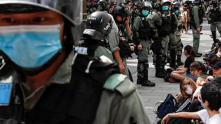 Hong Kong: China fury amid global pressure over security law