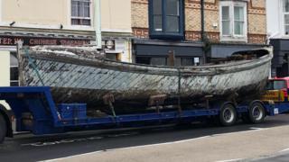 Dunkirk 'little ship' returns 'home' to North Devon
