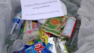 Thai national park mails trash back to tourists