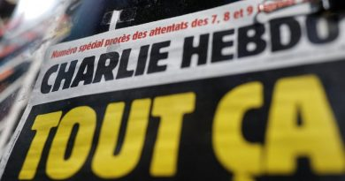 Charlie Hebdo: French magazine's head of HR 'forced out of home'