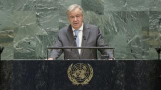 UN General Assembly: World must prevent new Cold War, Guterres warns