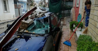 Storm Ianos: Two dead after 'medicane' lashes Greece and sparks islands emergency | World News