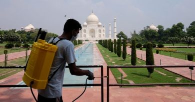 Coronavirus: Taj Mahal reopens – despite India recording 87,000 new COVID cases in a single day | World News