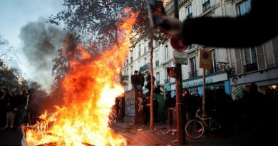 France protests turn violent as people demonstrate against new filming law and police brutality | World News