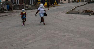 St Vincent volcano: Around 16,000 people flee communities after eruption of La Soufriere | World News