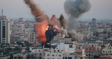 Israel renews airstrikes on Gaza, and Hamas fires rockets back, as violence continues for fifth night | World News