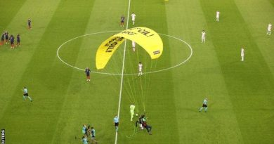Euro 2020 – France 1-0 Germany: Several in hospital after parachute protest