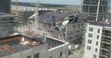 Belgium: Five people killed after school building site collapses in Antwerp | World News
