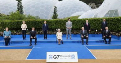Australian prime minister meets the Queen – and tells her she was a 'hit' at the Cornwall G7 summit   UK News