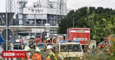 Leverkusen blast: German chemical plant explosion leaves one dead
