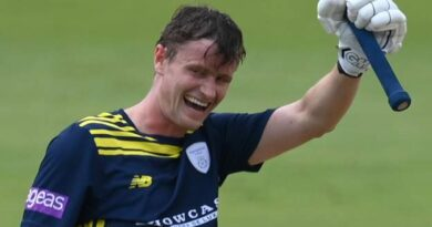 One Day Cup: Nick Gubbins hits unbeaten 131 before taking four wickets for Hampshire
