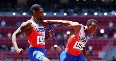 Tokyo Olympics: Carl Lewis blasts US men's 4x100m relay performance as 'total embarrassment' | World News