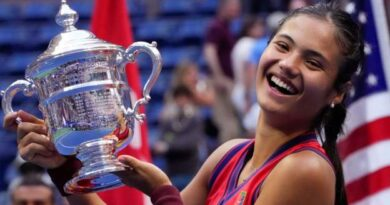 Emma Raducanu: Homecoming event for US Open champion to be shown on the BBC