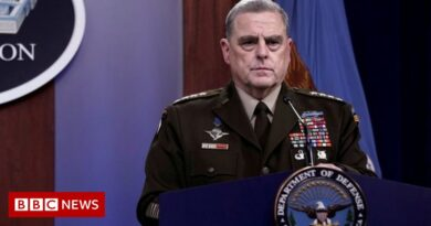 US general defends 'secret' phone calls with China