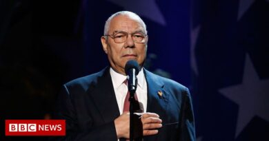 The key moments of Colin Powell's life