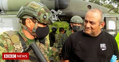 Colombia's most wanted drug lord Otoniel captured